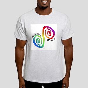 Rainbow Whickety Whack Ash Grey T-Shirt