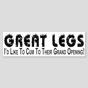 Cum To Grand Opening - Bumper Sticker