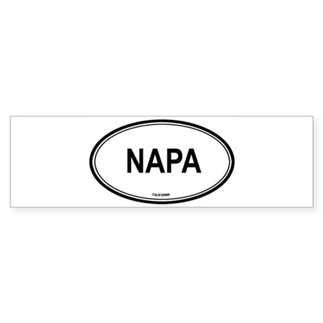 Napa (California) Bumper Sticker