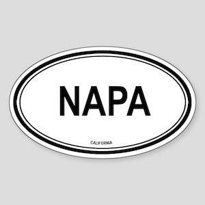 Napa (California) Oval Sticker