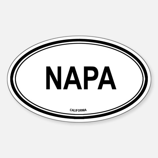 Napa (California) Oval Decal