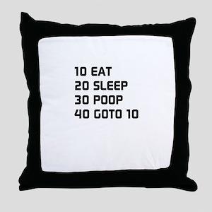 Basic Baby Throw Pillow
