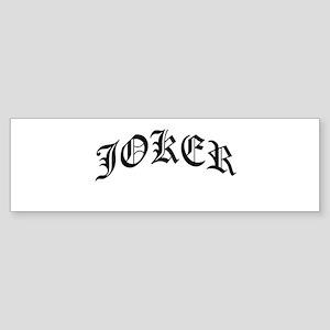 joker Sticker (Bumper)