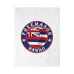 Hawaiian Freemason Twin Duvet