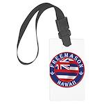 Hawaiian Freemason Large Luggage Tag