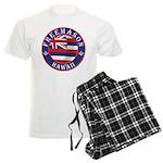Hawaiian Freemason Men's Light Pajamas