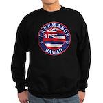 Hawaiian Freemason Sweatshirt (dark)