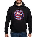 Hawaiian Freemason Hoodie (dark)