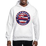 Hawaiian Freemason Hooded Sweatshirt