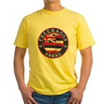 Hawaiian Freemason Yellow T-Shirt