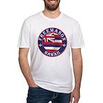 Hawaiian Freemason Fitted T-Shirt