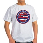 Hawaiian Freemason Light T-Shirt