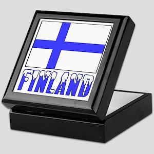 Flag 10x10 Sample Keepsake Box