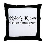 The All American Throw Pillow