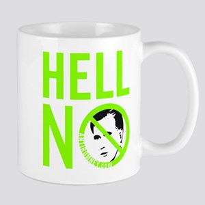 Hell No - Green Mug