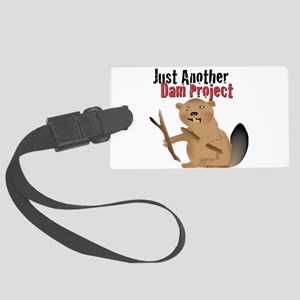 Another Dam Large Luggage Tag