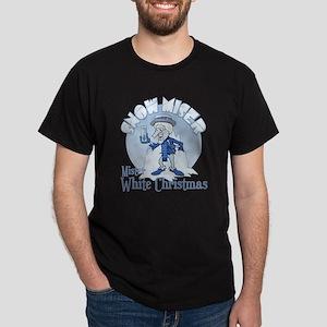 SnowMiser_MisterWhiteChristmas Dark T-Shirt