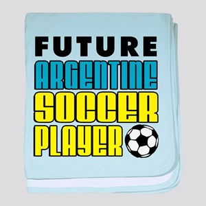 Future Argentine Soccer Player baby blanket