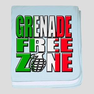 Grenade Free Zone Jersey Shore baby blanket