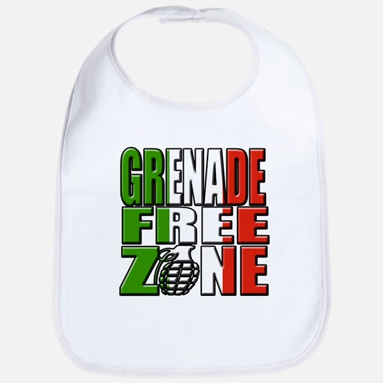 Grenade Free Zone Jersey Shore Bib