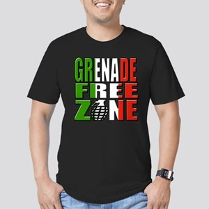 Grenade Free Zone Jersey Shore Men's Fitted T-Shir