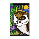Memorial Day Owl 20x12 Wall Decal