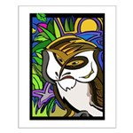 Memorial Day Owl Small Poster