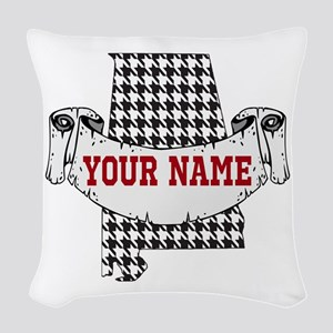 Alabama Pride Woven Throw Pillow