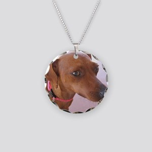 Zoey 2 Necklace Circle Charm