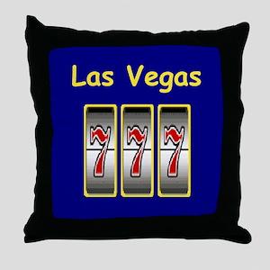Las Vegas 777 Throw Pillow