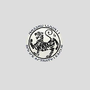 NC PAL Shotokan Karate Tiger Mini Button