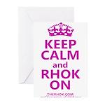 RHOK on Greeting Cards (Pk of 20)