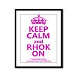 RHOK on Framed Panel Print