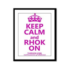 RHOK on Framed Panel Print