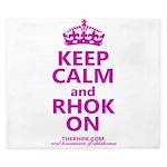 RHOK on King Duvet