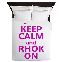RHOK on Queen Duvet