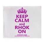 RHOK on Throw Blanket