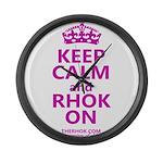 RHOK on Large Wall Clock