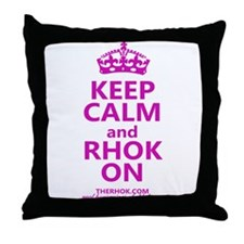 RHOK on Throw Pillow