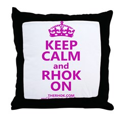 RHOK on Throw Pillow