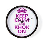 RHOK on Wall Clock