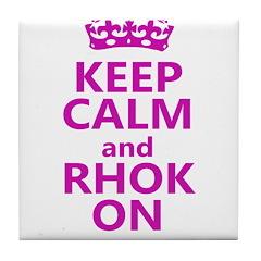 RHOK on Tile Coaster