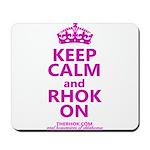 RHOK on Mousepad