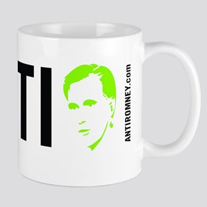 Anti Romney 2 - Green Mug