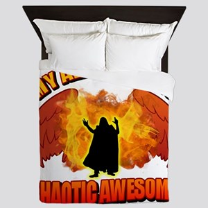 Chaotic Awesome Queen Duvet