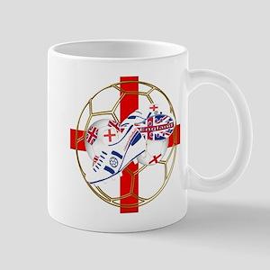 England football and boot crest Mug