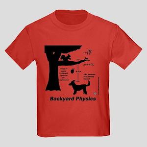 Backyard Physics Kids Dark T-Shirt