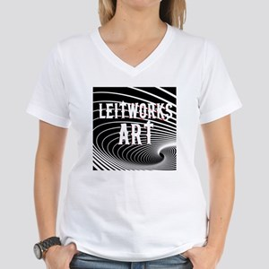 Leitworks Art Women's V-Neck T-Shirt
