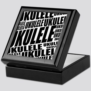 Popular Ukulele Keepsake Box
