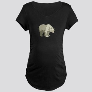 Polar Bear Maternity Dark T-Shirt
